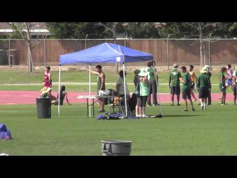 Rafer Johnson:  Boys 4x400m: 3/21/2015