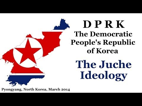 What is the Juche ideology in North Korea? Explaination from North Korean guide in Pyongyang.