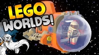 "LEGO Worlds Gameplay - ""EVERYTHING IS AWESOME...AGAIN!!!"" Walkthrough Let"