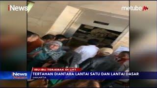 Belasan Ibu-Ibu PKK Terjebak Dalam Lift di Kantor Wali Kota Jakarta Timur - iNews Malam 20/09 Video