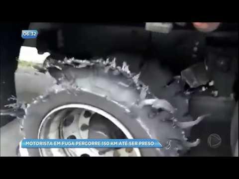 Homem é preso após fugir da polícia de Minas Gerais até o RJ