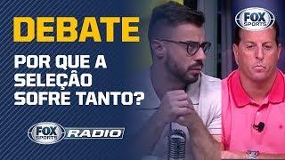 Por que a Seleção Brasileira sofre para vencer? Fox Sports Rádio discute o rendimento