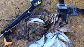 Подводная Охота на Море. Остров Хийумаа. Прибытие на Остров. Первая Охота на Камбалу.