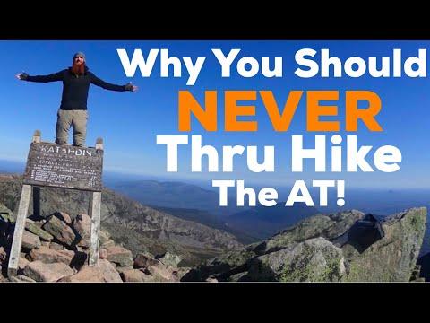Why You Should NEVER Thru Hike The Appalachian Trail