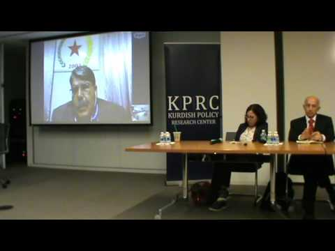 "Panel Discussion ""Turkey's Intervention in Rojava and Its Consequences"" 1/3"