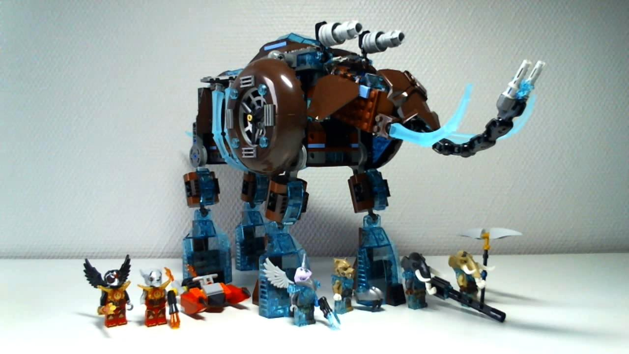 ConstructionLegends Lego Live Of Stomper22français Chima's Maula's Mammoth Ice gb7mIYfyv6