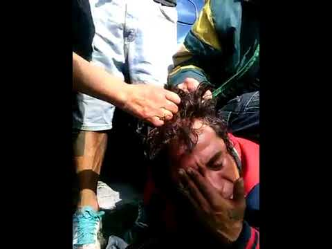 Encuentran a una lacra robando en un taxi en La Magdalena Contreras CDMX