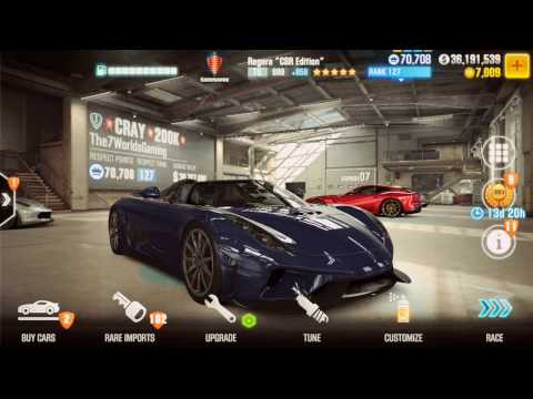 CSR2 Delivery of McLaren P1 GT-R : 20 Million Dollar Prize : the7worldsgaming