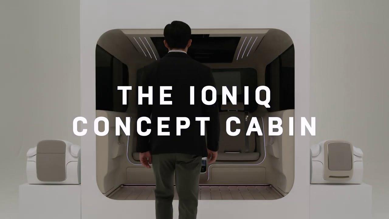 [IONIQ x Wired] IONIQ Concept Cabin