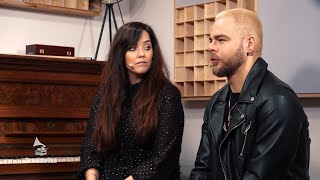 #GrammoTon Interview mit Sascha Salvati und Tialda van Slogteren (Popstars-Band Room 2012) (4k)