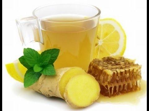 Имбирный чай с лимоном -