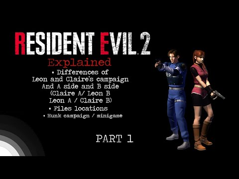 Part 1 Explaining Resident Evil 2 Differences Of Claire A