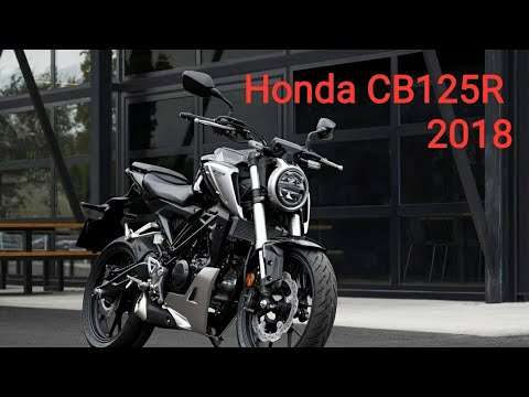 honda cb125r 2018 youtube. Black Bedroom Furniture Sets. Home Design Ideas
