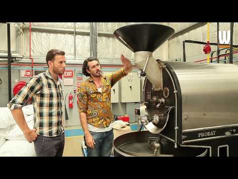 How coffee is roasted