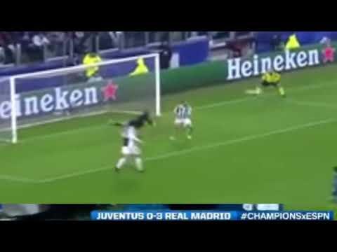 Cristiano Ronaldo but bicyclette contre la Juventus league des champions