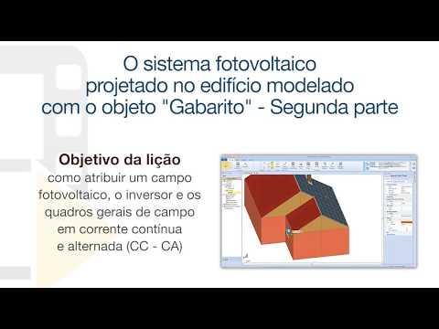 """Vídeo Tutorial de Solarius PV - O objeto """"Gabarito"""" (Segunda parte) - ACCA software thumbnail"""