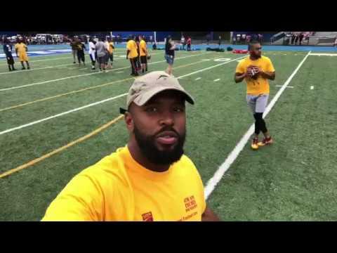 JOSH EVANS FOOTBALL CAMP // Jelani Jenkins
