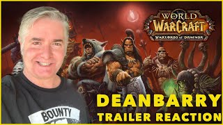 """World of Warcraft """"Warlords of Draenor"""" Cinematic REACTION"""