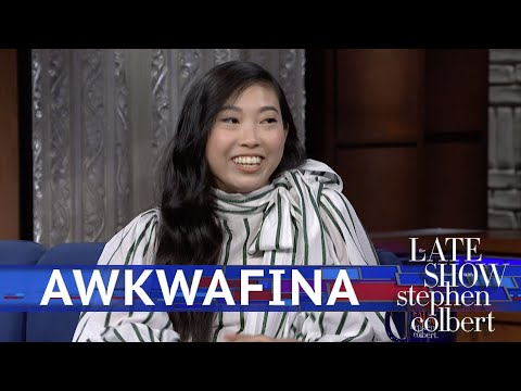 Awkwafina's Grandmother Didn't See The Last 10 Minutes of Her Movie