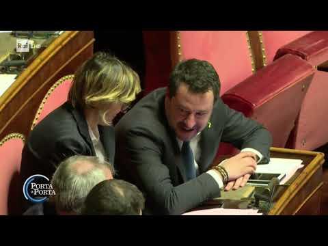 Il processo a Matteo Salvini - Porta a porta 12/02/2020