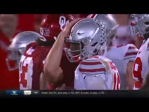 Ohio State at Oklahoma | 2016 Big 12 Football Highlights