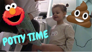 TODDLER POTTY TRAINING!!!- The fun begins!