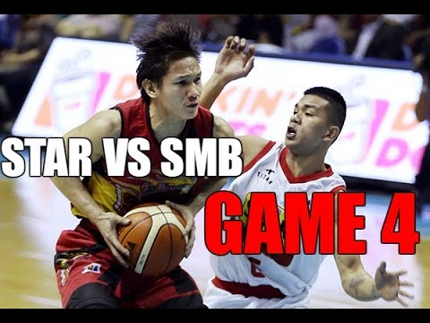 ALEX CABAGNOT FOR BEST PLAYER IN THE CONFERENCE! SAN MIGUEL BEERMEN VS STAR HOTSHOTS GAME 4 HIGHLIGH