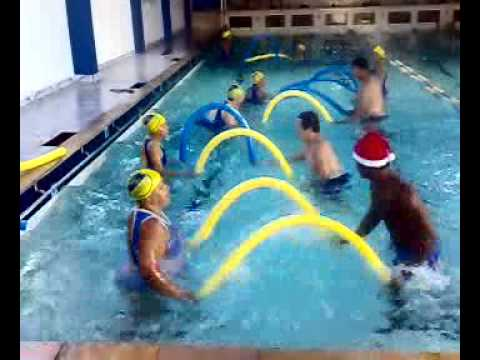 Aula de natal do professor Michael Martins na academia Aquatic center (video 2) Travel Video