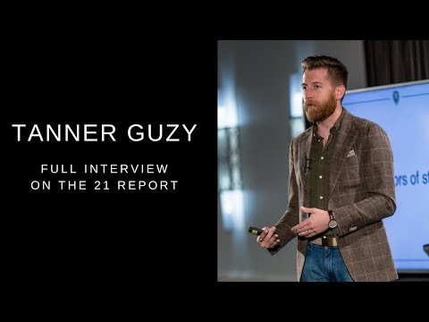 Tanner Guzy (Masculine Style) on The 21 Report | Full Interview
