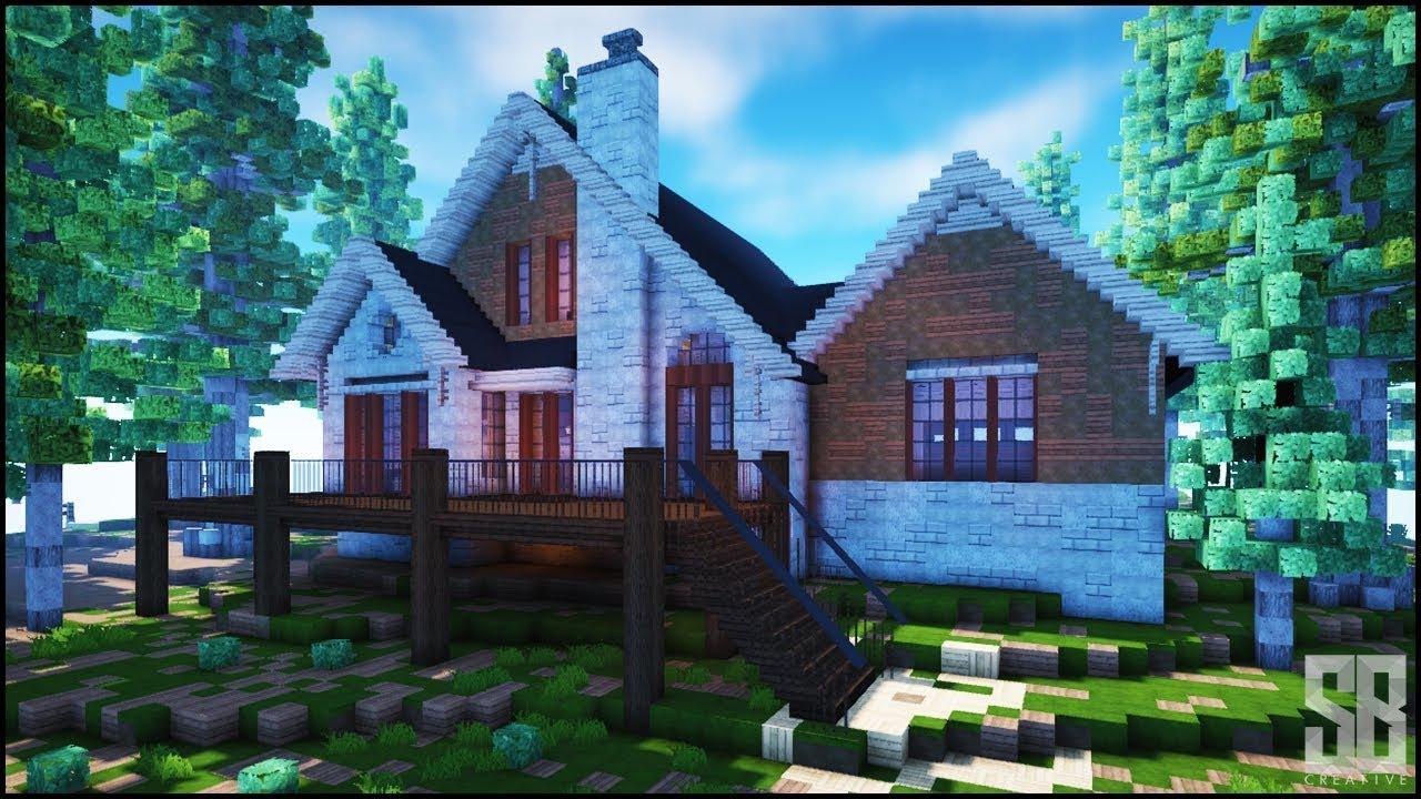 Minecraft Amazing Lake Side House Best Minecraft Builds 2018 Youtube