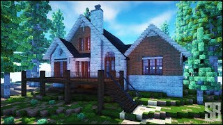 Minecraft lake side house - showcase ●server ip : sbcreativemc.com ●resource pack: http://bit.ly/2mybjla server host ●https://www.beastnode.com/premium-minec...