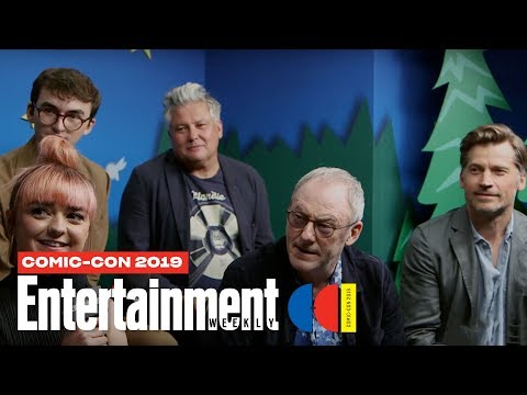 'Game Of Thrones' Cast Joins Us LIVE | SDCC 2019 | Entertainment Weekly