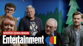 'Game Of Thrones' Cast Joins Us LIVE | SDCC 2019 | Entertainment Weekly Video