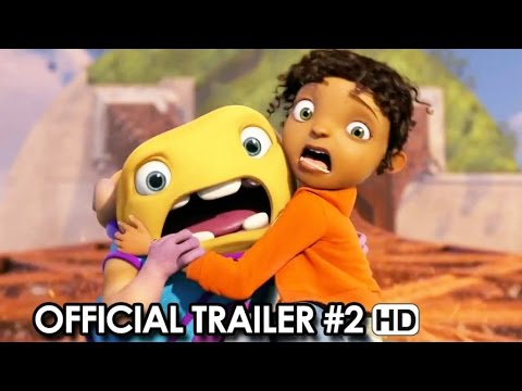 Home Official Trailer #2 (2015) - Dreamworks Animation Movie HD