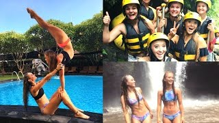 BALI VLOG! White water rafting! Shopping! Insane waterfall!