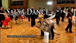 Lauren Lew and John Salsa Dance - Dancing Salsa - Bailando Salsa