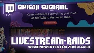 twitch.tv Anleitung Streamer-Raids   Deuтsch   twitch-Tutorial #05