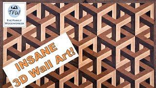 INSANE 3D Wood Art