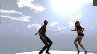 VISTA ANIMATIONS- GET LUCKY DANCES FOR SECONDLIFE (TM)
