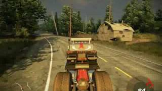 Fuel Gameplay Monster Truck Wald (PC)
