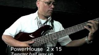 Mesa Engineering Powerhouse Bass Cabs Demo - Part 2