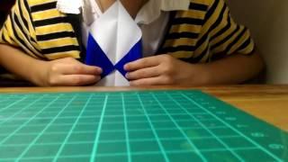 折紙教學1 信封折法
