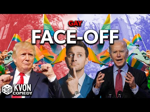 Trump vs Biden: Gay Face-Off (who wins w/ LGBTQ's) Comedian K-von goes in deep