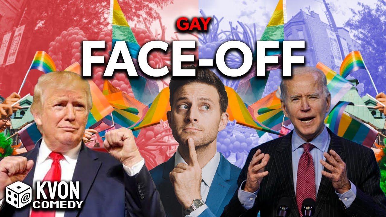 Trump vs Biden: Gay Face-Off (who wins w/ LGBTQ's) Comedian K-von goes in deep