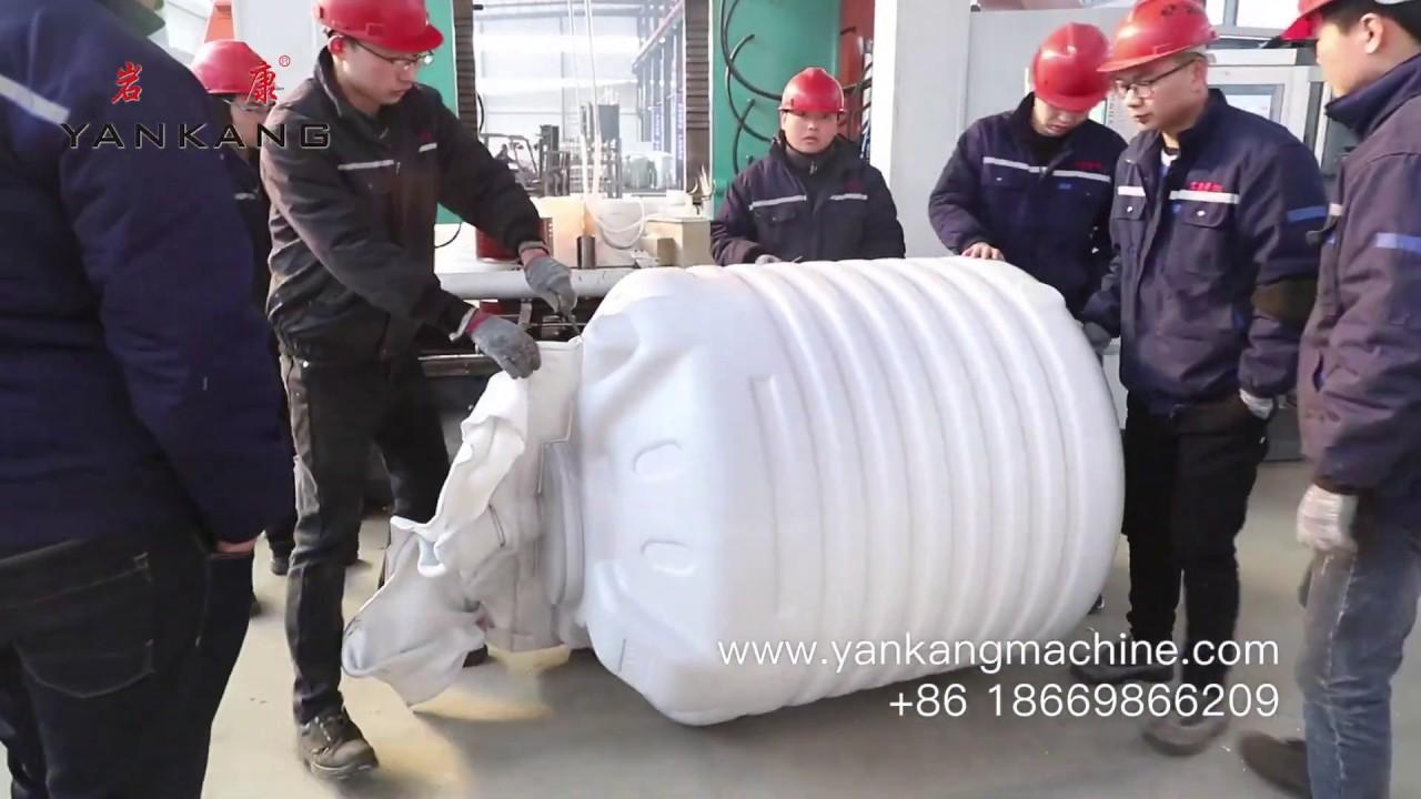 1000L 5 Layers Water Storage Tank Blow Moulding Machine Quality Testing