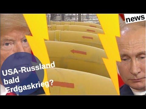 USA-Russland: Bald Erdgaskrieg?