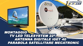 Montaggio TV, Antenna Digitale e Parabola Satellitare