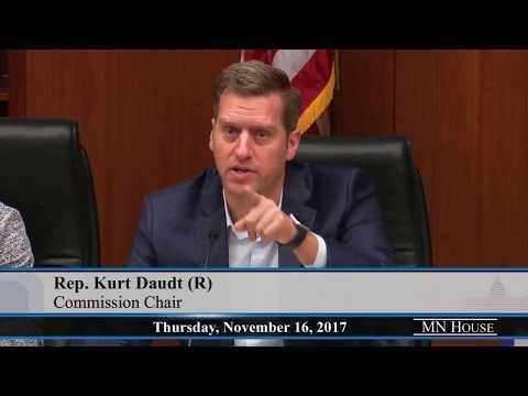 Legislative Coordinating Commission - part 1  11/16/17