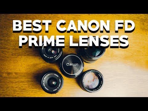 Top 5 Canon FD Prime Lenses