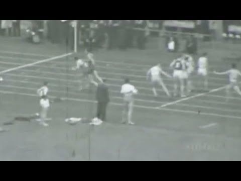 Helsinki 1952 [Jamaica]  4 x 400m heat (Amateur Footage)